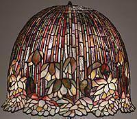 Metmuseum lampada Tiffany particolare