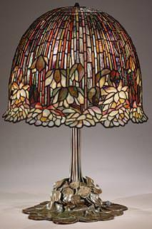 Metmuseum: lòampada Tiffany 1904