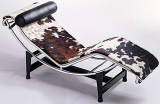 Chaise longue di Le Corbusier