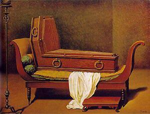 Madame recamier, Magritte