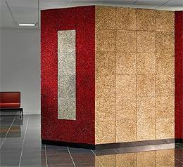 Ricraee: parete ad angoli metalricraee