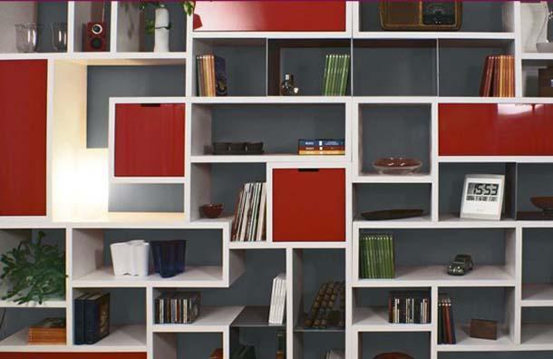 Librerie e guardaroba componibili for Cubi da parete ikea