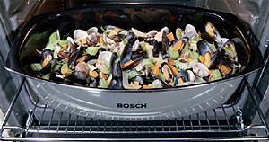 Forno Bosch: griglia pesce