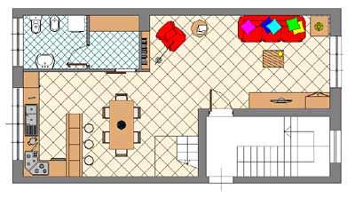 Il duplex for Planimetrie seminterrato