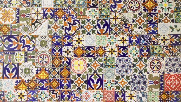 Piastrelle decorate - Piastrelle antiche per cucina ...
