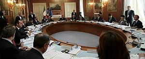 Consiglo dei ministri Napoli 2008