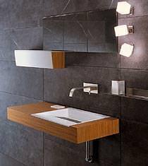 Geda Nextage: lavabo teak