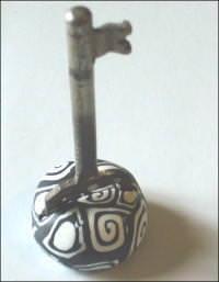 chiave con decorazione