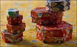 scatole decorate