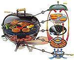Cucinare all'aperto: barbecue chiuso