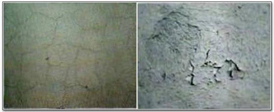 Inconvenienti degli intonaci a base di cemento