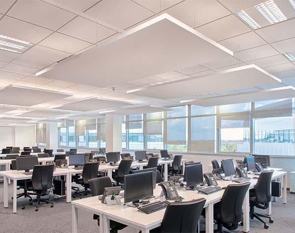 Controsoffitto acustico in uffici, di Armstrong Building Products