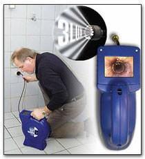 Telecamera per l'ispezione delle tubazioni