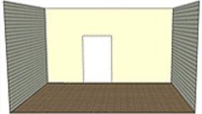 Ridimensionare rivestendo pareti e soffitti