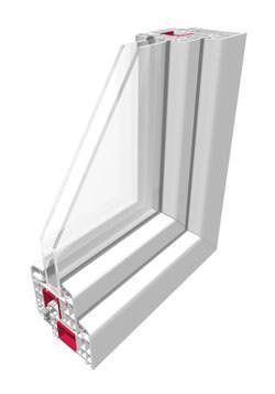 Finestra con vetri termici