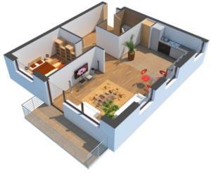 planimetria di un alloggio