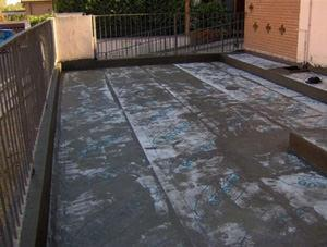 impermeabilizzare un terrazzo esistente senza demolizione