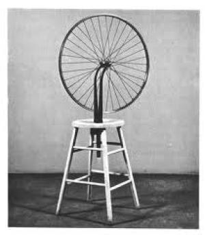 Marcel Duchamp, Ruota di Bicicletta, 1913