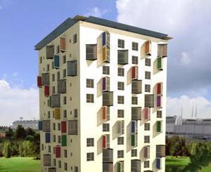 grattacielo in legno_Milano@Urbam + Dante O. Benini & Partners