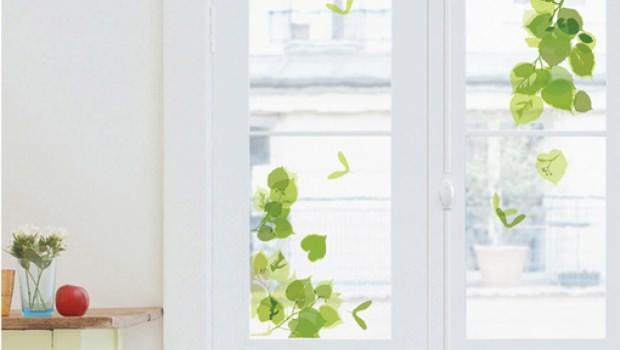 Decorare con adesivi per vetri - Adesivi natalizi per finestre ...
