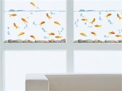 Adesivi per vetri_Modello con pesci