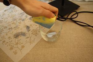 preparazione dello stencil