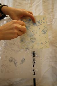 realizzazione stencil