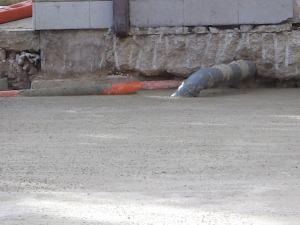 scavi adiacenti a costruzione con sottostrutture impianti