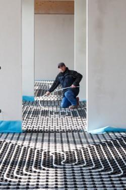 Tubazione a pavimento