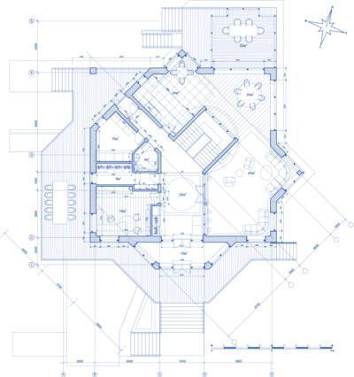 impianto termico centralizzato in pianta