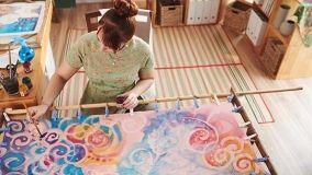 Tecnica del Batik: come realizzarla in fai da te