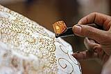 L'antica tecnica del batik: realizzazione