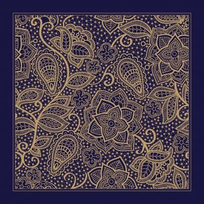 Tessuto realizzato con la tecnica del Batik