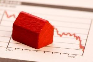 tendenza decrescente del mercato immobiliare
