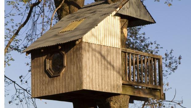 Casa sull 39 albero - Come costruire una casa sull albero ...