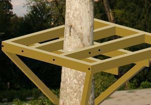 Casa sull albero progetto - Costruire casa albero ...