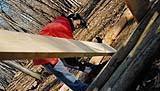 Al lavoro nel villaggio arboricolo
