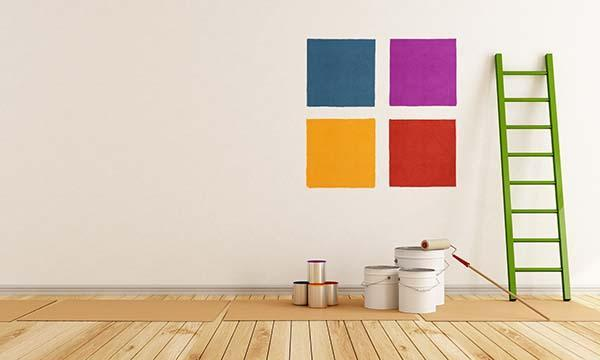 prove di colore per tinteggiare la casa