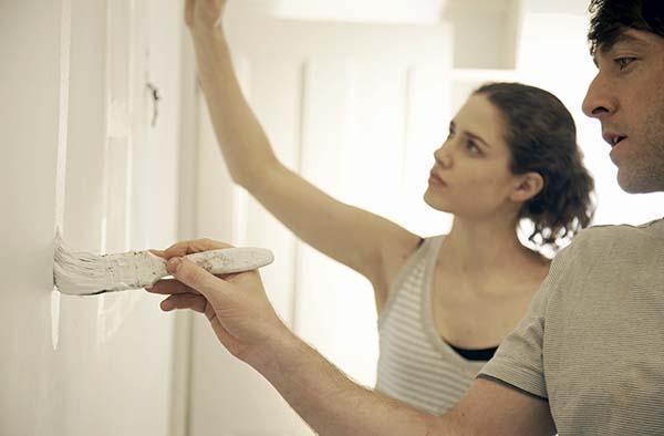 dipingere le pareti di casa