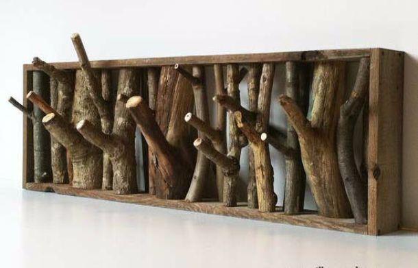 Appendiabiti Tree Branch Coat Hooks