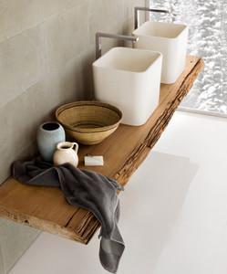 Bagno con legno - Linea bagno thun ...