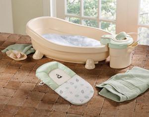 Vaschette per il bagno di neonati e bambini