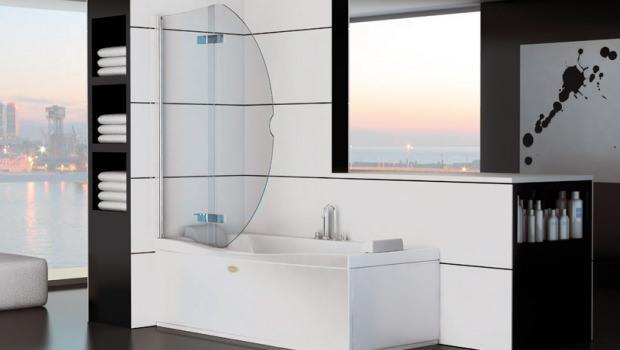Divisorio doccia su vasca da bagno for Costi vasche da bagno
