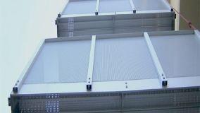 Balconi autoportanti in alluminio o legno