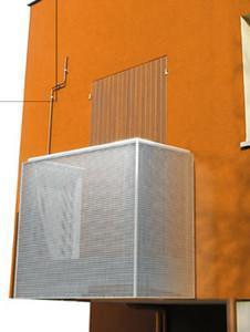 Aluscalae, balcone monoblocco in alluminio