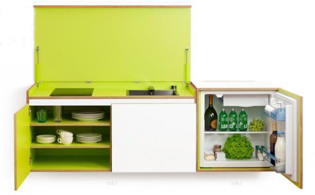 Cucine in miniatura - Mini cucine a scomparsa ...