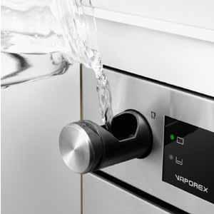 Introduzione dell'acqua nel forno a vapore