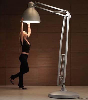 Lampade da tavolo giganti