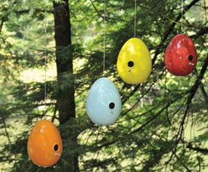 Jim Schatz, Egg Bird Feeders