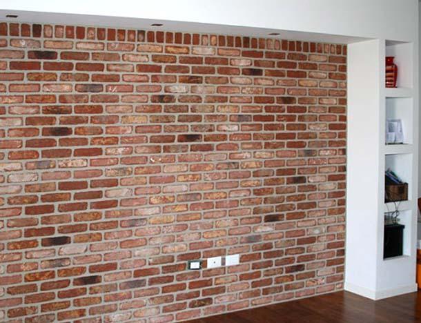 Il rivestimento facciavista for Rivestimento in mattoni per case
